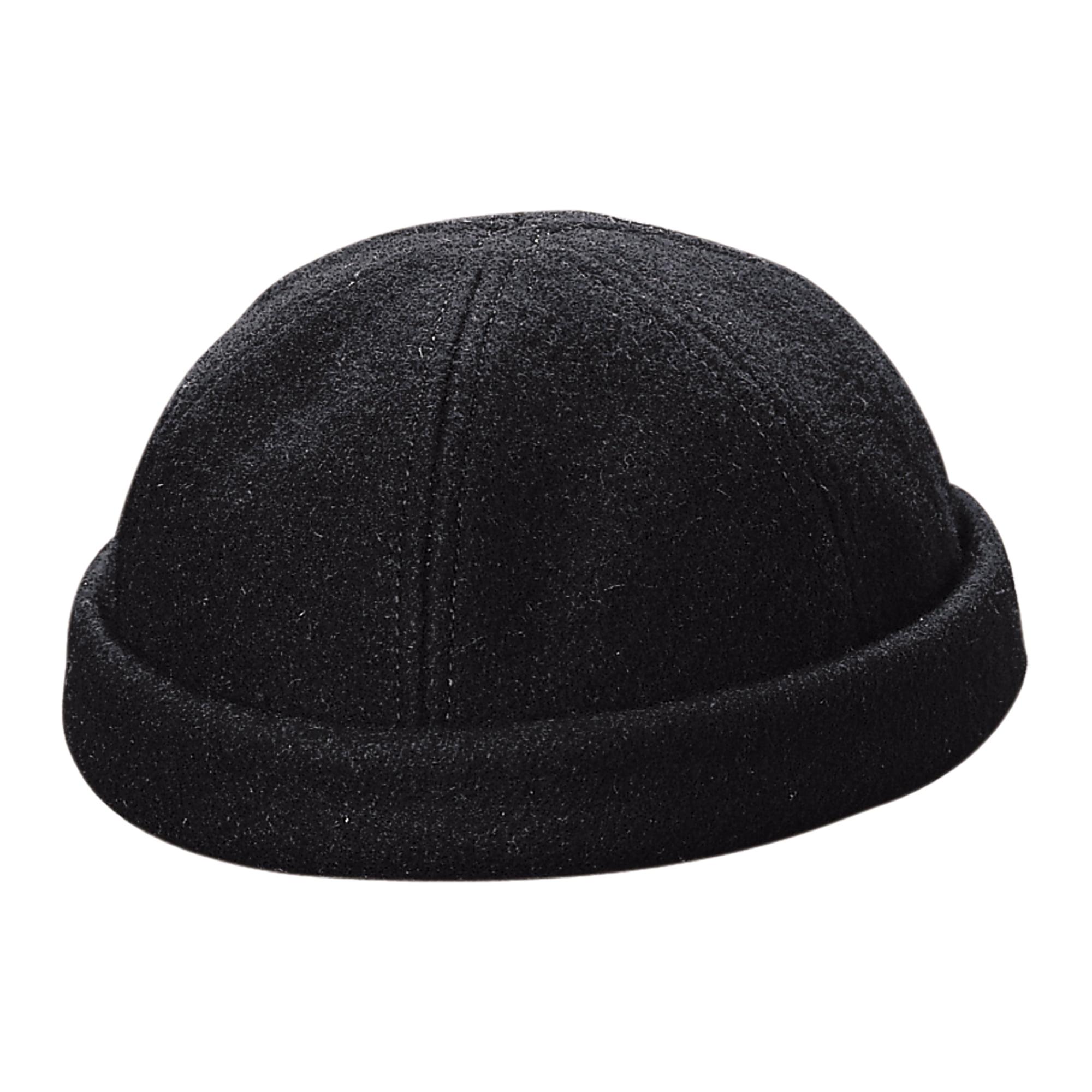 dd008d6c77fe8 Dorfman Pacific - Men s Wool Black Watch Cap Beanie Stocking - Walmart.com