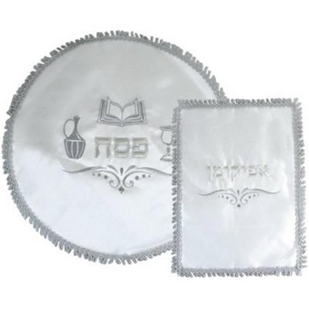 - Satin Passover & Afikoman Covers with Embroidery