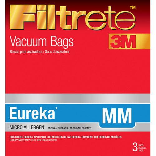 Eureka MM Filtrete  Vacuum Bag (Pack of 3)