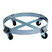6FVH7 Drum Dolly, 800 lb., 6-1 2 In H, 55 gal. by VALUE BRAND