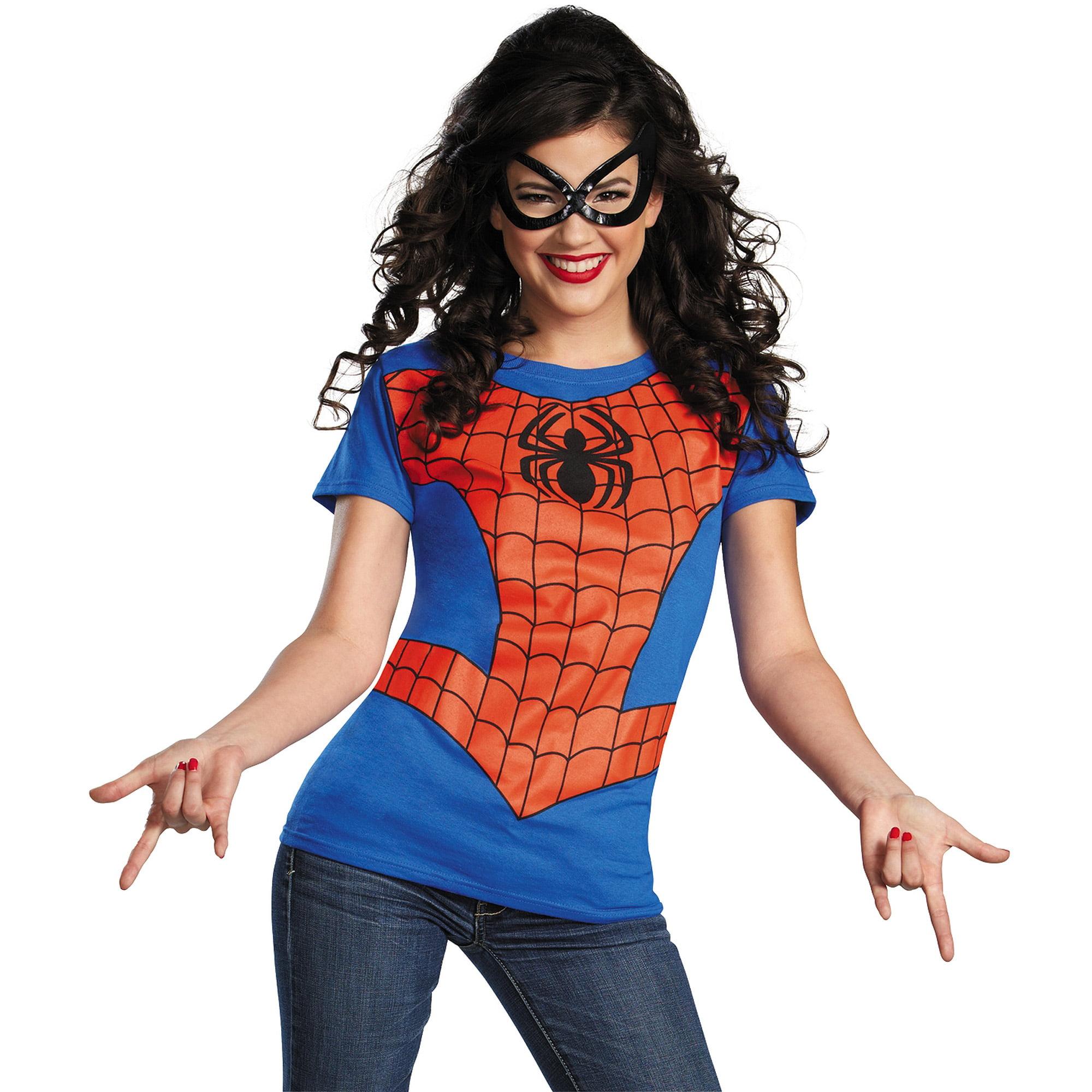 spider girl womens adult halloween costume walmartcom