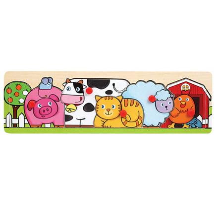Farm Animals - Wooden Peg