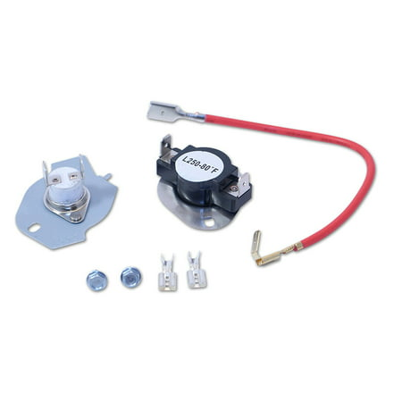 Thermal Cut Out Kit for Whirlpool, Sears, 3399848, AP3094244, PS334299, 279816 Thermal Cut Out