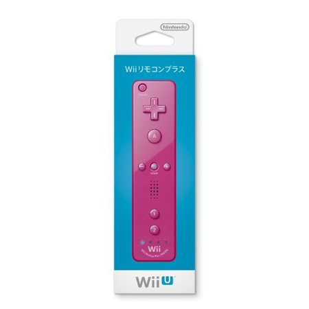 Japanese Nintendo Wii - Nintendo Wii WiiU Remote Plus Wireless Remote Controller - Pink [Japan Import]