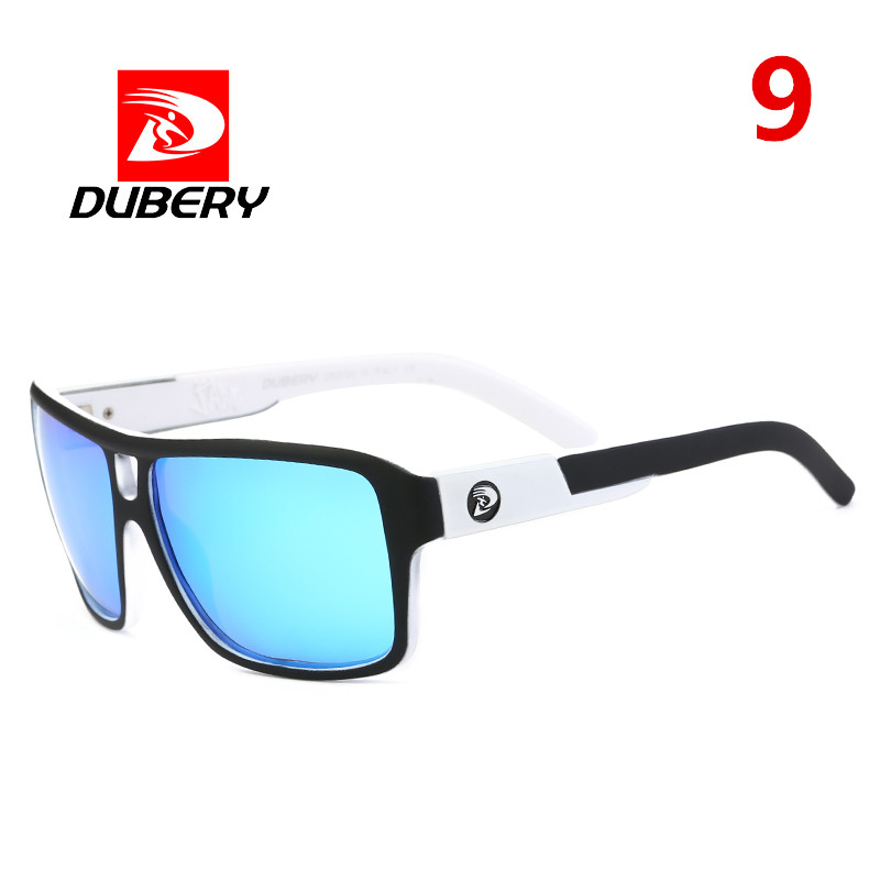 Details about  /DUBERY Men Polarized Sunglasses Outdoor Sport Driving Fishing Square Glasses