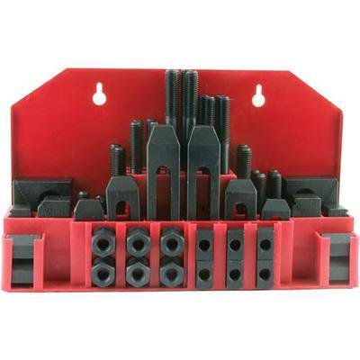 "1/2"" Clamp Clamping Bolt T Nut Hold Down Kit Set"