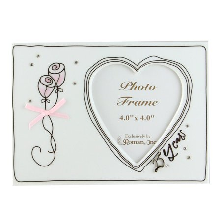 25th Silver Wedding Anniversary Porcelain Photo Frame 4