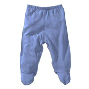 Babysoy Footie Pants (Baby) - Lake Blue-3-6 Months