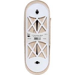 Bulk Buy: Dritz (15-Yards) 100% Polyester Belting 1 1/4in. x 15yd Natural 28601-25