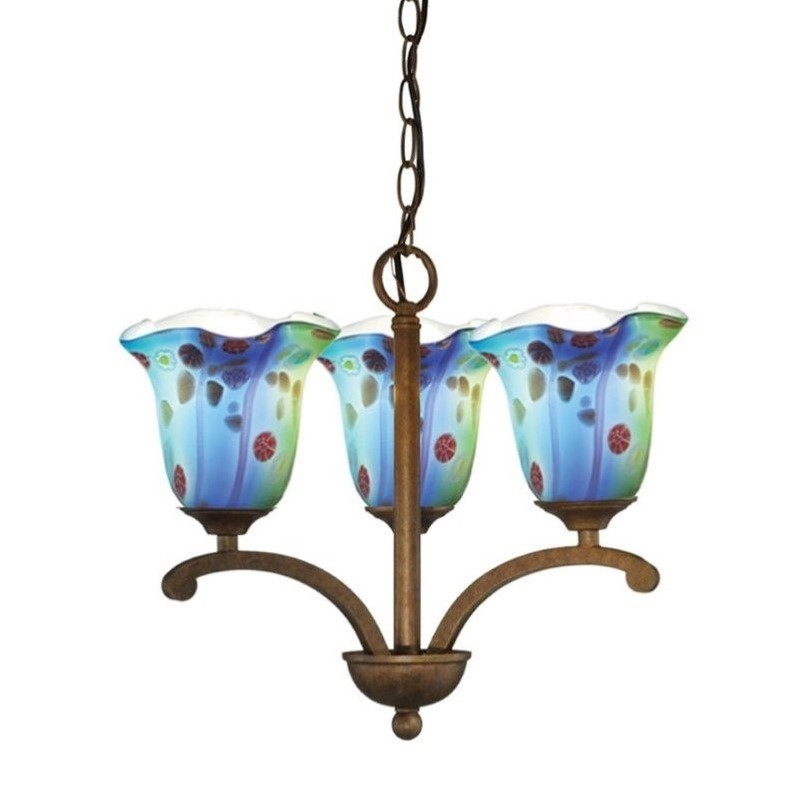 Dale Tiffany 3 Light Morgan Pendant