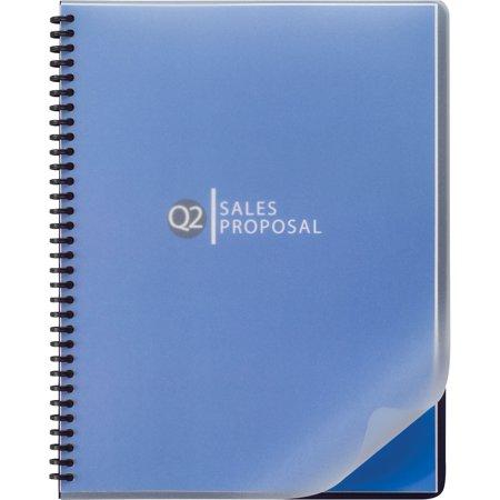 Swingline GBC, SWI2514501, Round Corners Presentation Binders, 25 / Pack, Frost