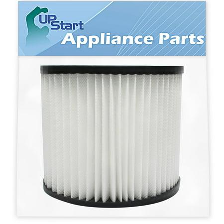 Replacement 9039800 Filter 903-98-00 for Shop-Vac - Compatible with Shop-Vac H87S550A, Shop-Vac 90398, Shop-Vac 587-24-62, Shop-Vac E87S450, Shop-Vac 587-04-00, Shop-Vac 286-00-10