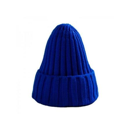 6cb8ba0c7 Ropalia Fashion Women Men Winter Knitted Beanies Cap Ski Hat Warm Crochet  Knit Cap Hip-Hop Plain Hat