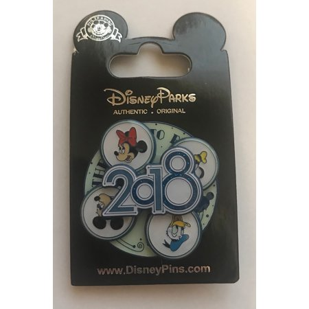 Disney Mickey Mouse Donald Duck Goofy Pluto 2018 Trading Pin