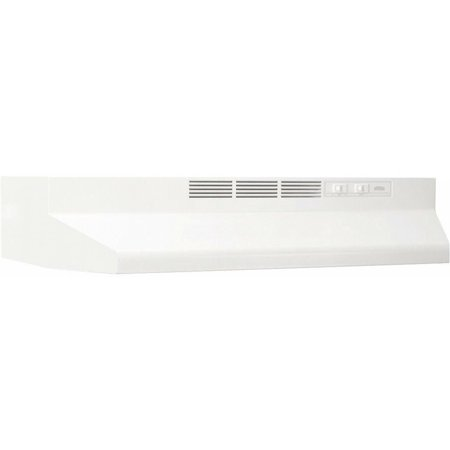 36 Inches Non Vented Range Hood Indoor Exhaust Cleaner Under Cabinet Steel White ()