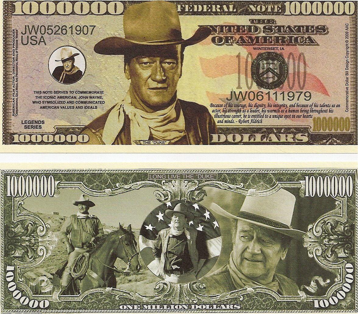 MARTIN LUTHER KING MILLION DOLLAR NOVELTY BILL MONEY