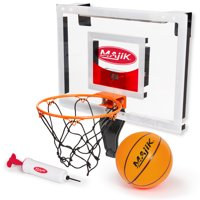 Majik Deluxe Over The Door Breakaway Basketball Rim W/Electronic Scoring