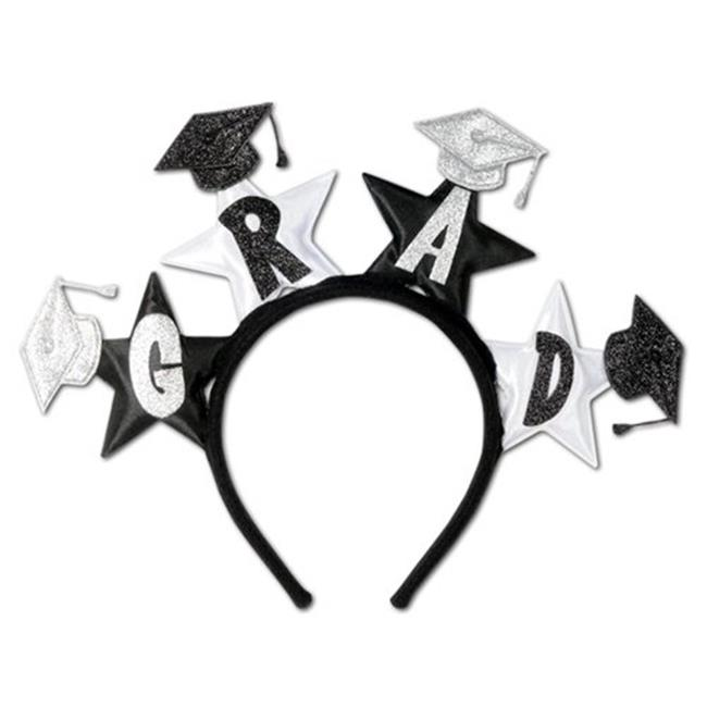 Glittered Grad Headband