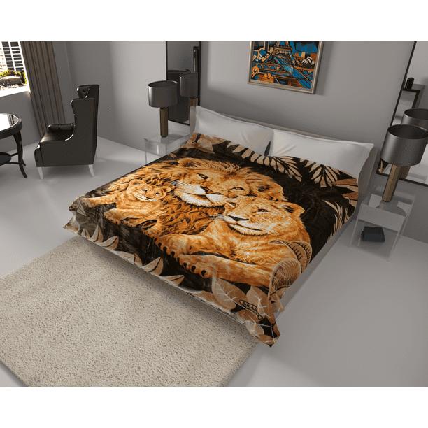 Korean Solaron Super Thick Heavy Weight, Queen Bed Comforters