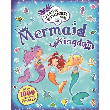 Mermaid Kingdom : Over 1000 Reusable Stickers!](Mermaid Stickers)