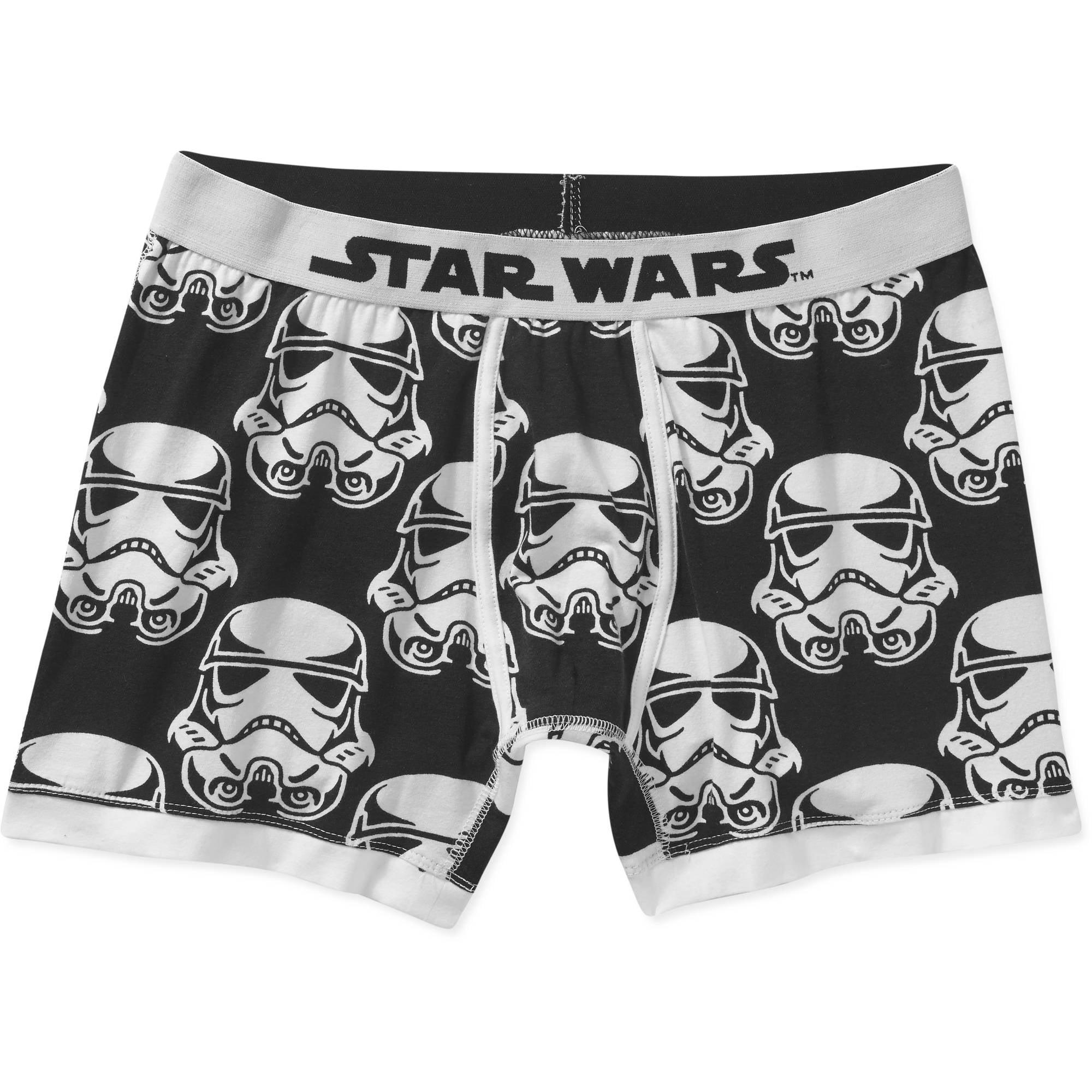 Star Wars Trooper Mugshot Men's Boxer Brief