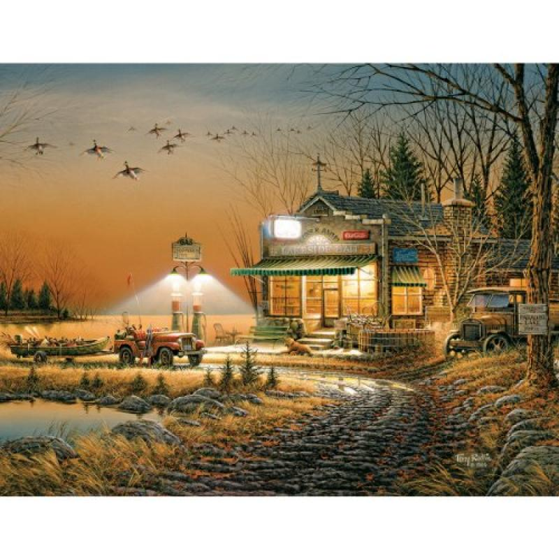 White Mountain Puzzles Welcome to Paradise - 1000 Piece Jigsaw Puzzle