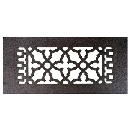 "Image of Acorn Manufacturing GL1G 12"" x 5-1/4"" Cast Iron Decorative Register"