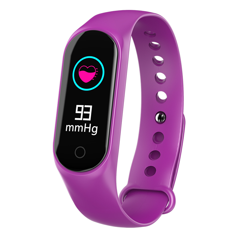 M3S Smart Bracelet Sleep Monitoring Heart Rate Blood Pressure Wristband Fitness Tracker Smart Watch
