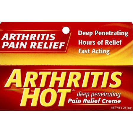 Arthritis Hot Pain Relieving Cream 3oz Arthritis Pain Relieving Cream