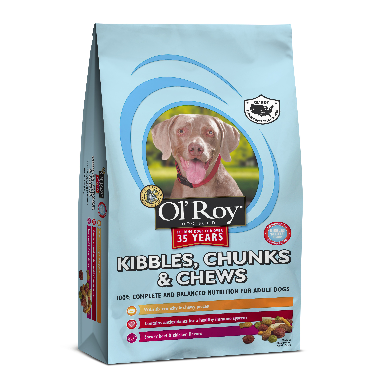 Ol'Roy Kibbles, Chunks & Chews Dry Dog Food, 40 lb