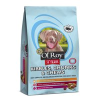 Ol' Roy Kibbles, Chunks, & Chews Dry Dog Food, 4 Lbs.