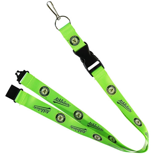 Oakland Athletics Neon Lanyard - No Size