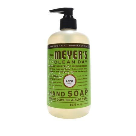 Mrs. Meyer's Clean Day Liquid Hand Soap, Apple, 12.5 Fl Oz