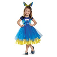 dory toddler tutu deluxe finding dory disney/pixar costume, large/4-6x