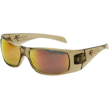 Fatheadz Men's Power Trip FHV121 FHV/121 3RD Brown Crystal Sunglasses (67mm Sunglasses)