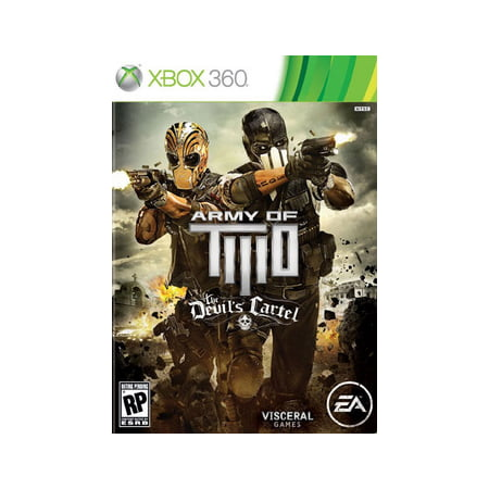 Army of Two: The Devils Cartel, Electronic Arts, Xbox 360,