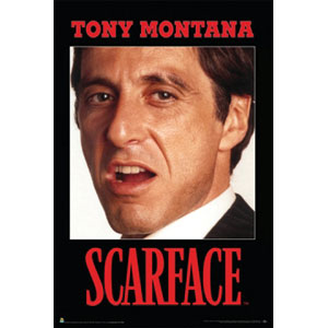Scarface - Domestic Poster