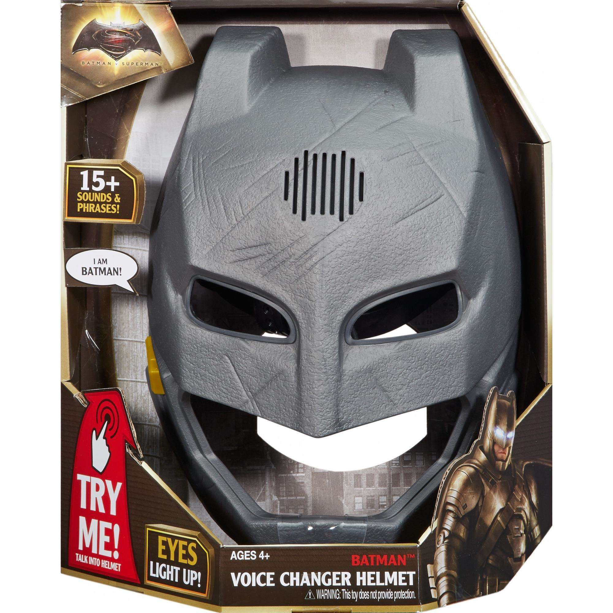 Batman v Superman: Dawn of Justice Voice Changer Helmet