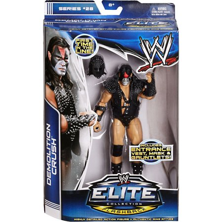 wwe elite collection series #28 demolition crush figure (Crush Figure)