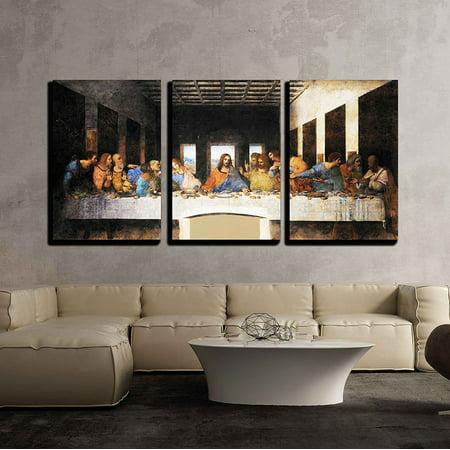 wall26 - Last Supper Leonardo Da Vinci - Canvas Art Wall Decor -16
