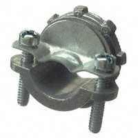 Halex 05107B Clamp Connector, 3/4 in, Zinc