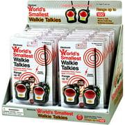 World's Smallest Walkie Talkie: Small Stuff, Big Fun (One unit per order)
