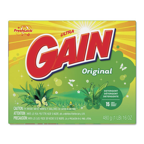 Gain Original Scent Powder Laundry Detergent - 16 Oz / 15 per Case (Set of 15)