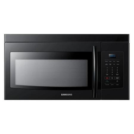 Samsung 1.6 Cu. Ft. Over-the-Range Microwave- Black