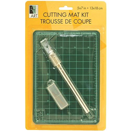 """Art Alternatives Self-Healing Cutting Mat Kit, 5"""" x 7"""""""