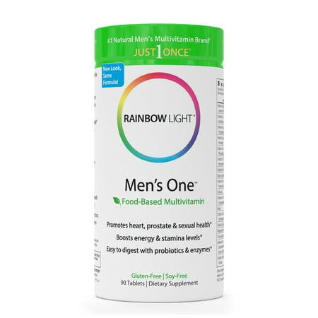 Rainbow Light Men's One Multivitamin 90 Tab (Best Vitamin For Men In Their 30s)