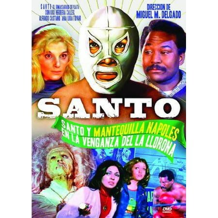 Santo en la Venganza Del la Llorna (DVD)