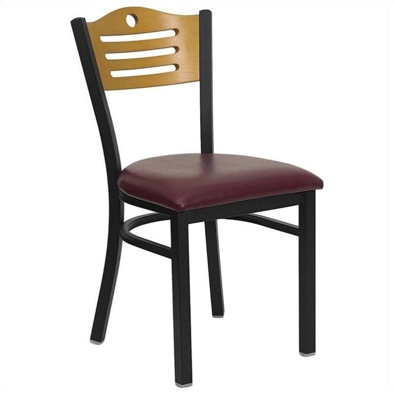 Flash Furniture Hercules Series Slat Back Side Chair (Set of 2)