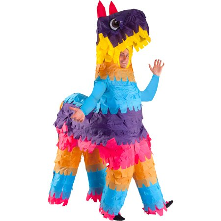 Inflatable Donkey Pinata Halloween Costume for Adults, Standard](Diy Pinata Costume)