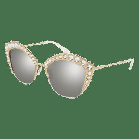 Gucci GG0114S Sunglass 53mm GOLD